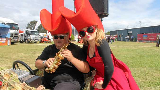 David Hastie and Valerie Edwards from Brisbane band Memphis Moovers will provide entertainment at the Sarina Show on Saturday.