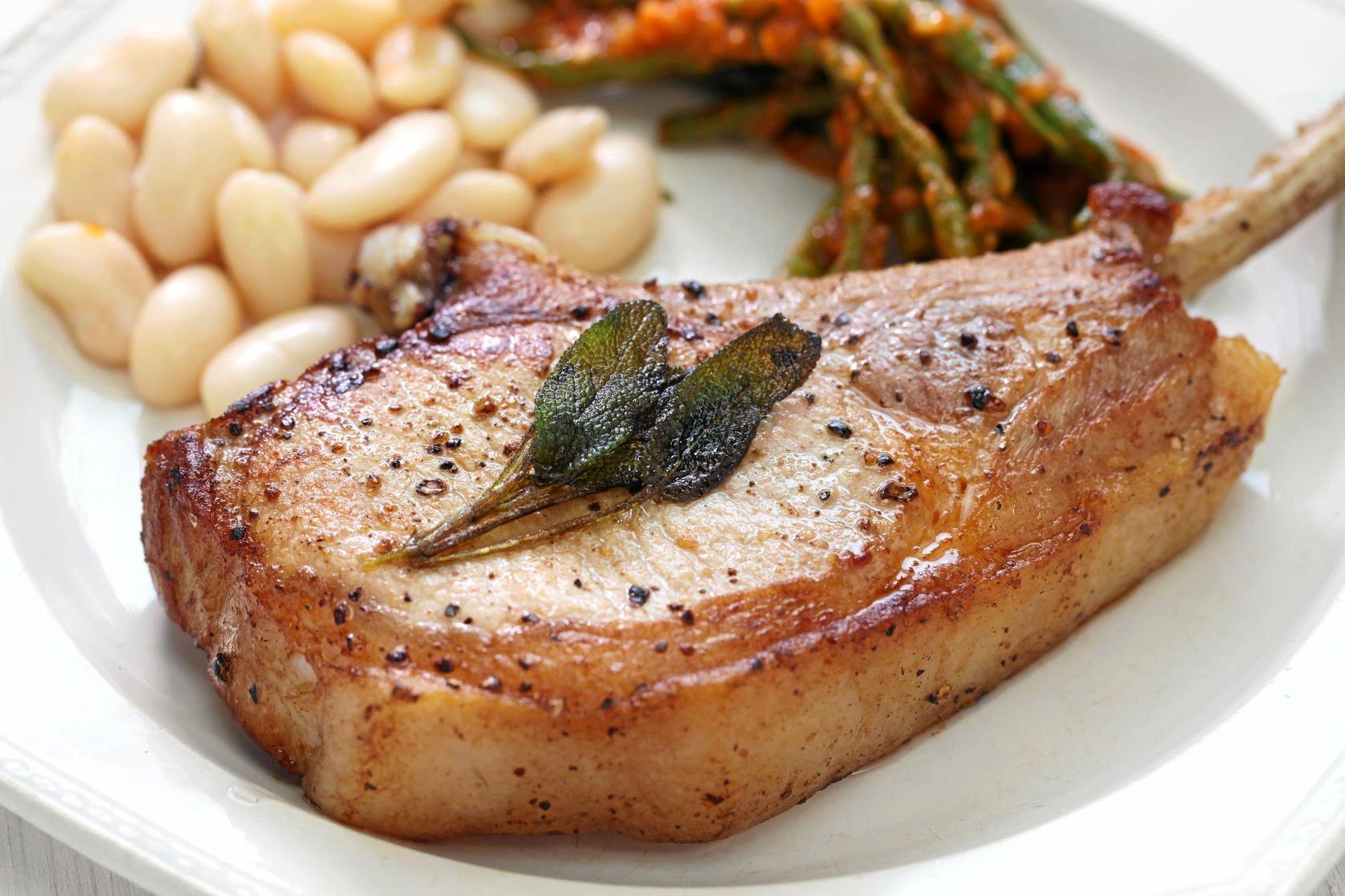 Pork chop or