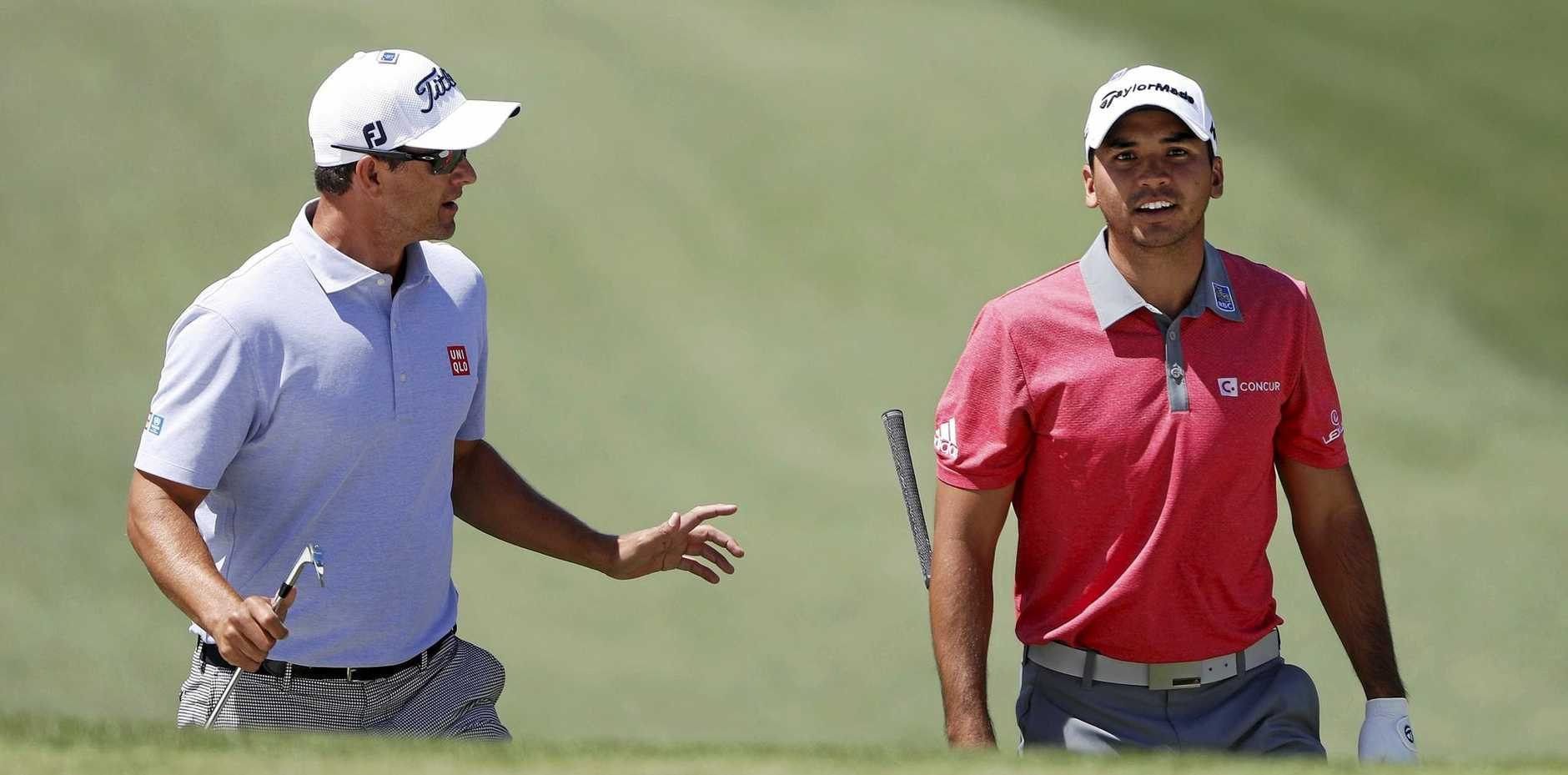 Jason Day and Adam Scott will be part of all-star groupings in the first two rounds at the PGA Champonship.  EPA/ANDREW GOMBERT