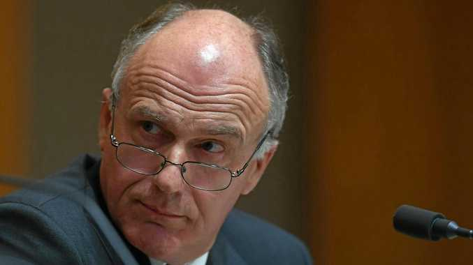 WARNING: Senator Eric Abetz is concerned by the possibility of Liberal backbenchers crossing the floor to allow debate on same-sex marriage.