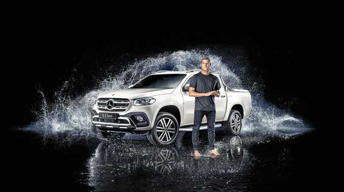 Mick Fanning has been named an ambassador for Mercedes-Benz and the X-Class ute.