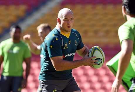 Stephen Moore stepped down as Wallabies captain ahead of his international retirement at the end of the season.