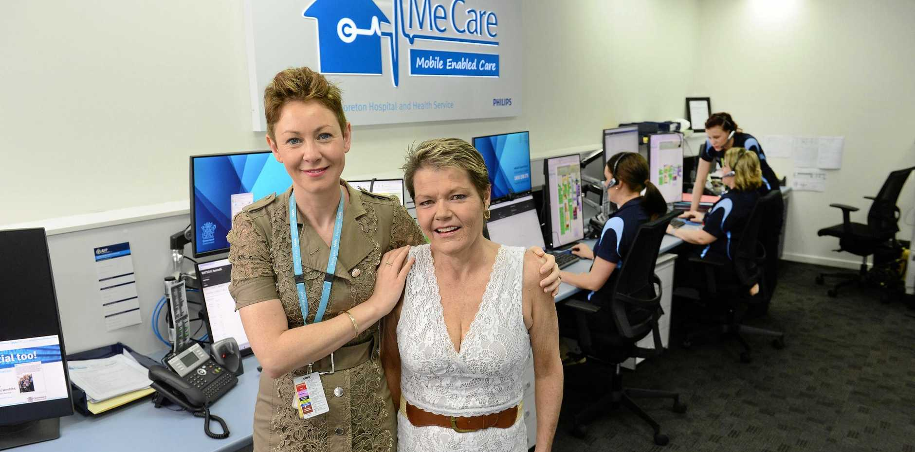 LIFE CHANGING: Dr Johanne Neill with the first ever Me Care patient Donna-Lee Inglis at the program launch. It's been a year since MeCare was introduced.