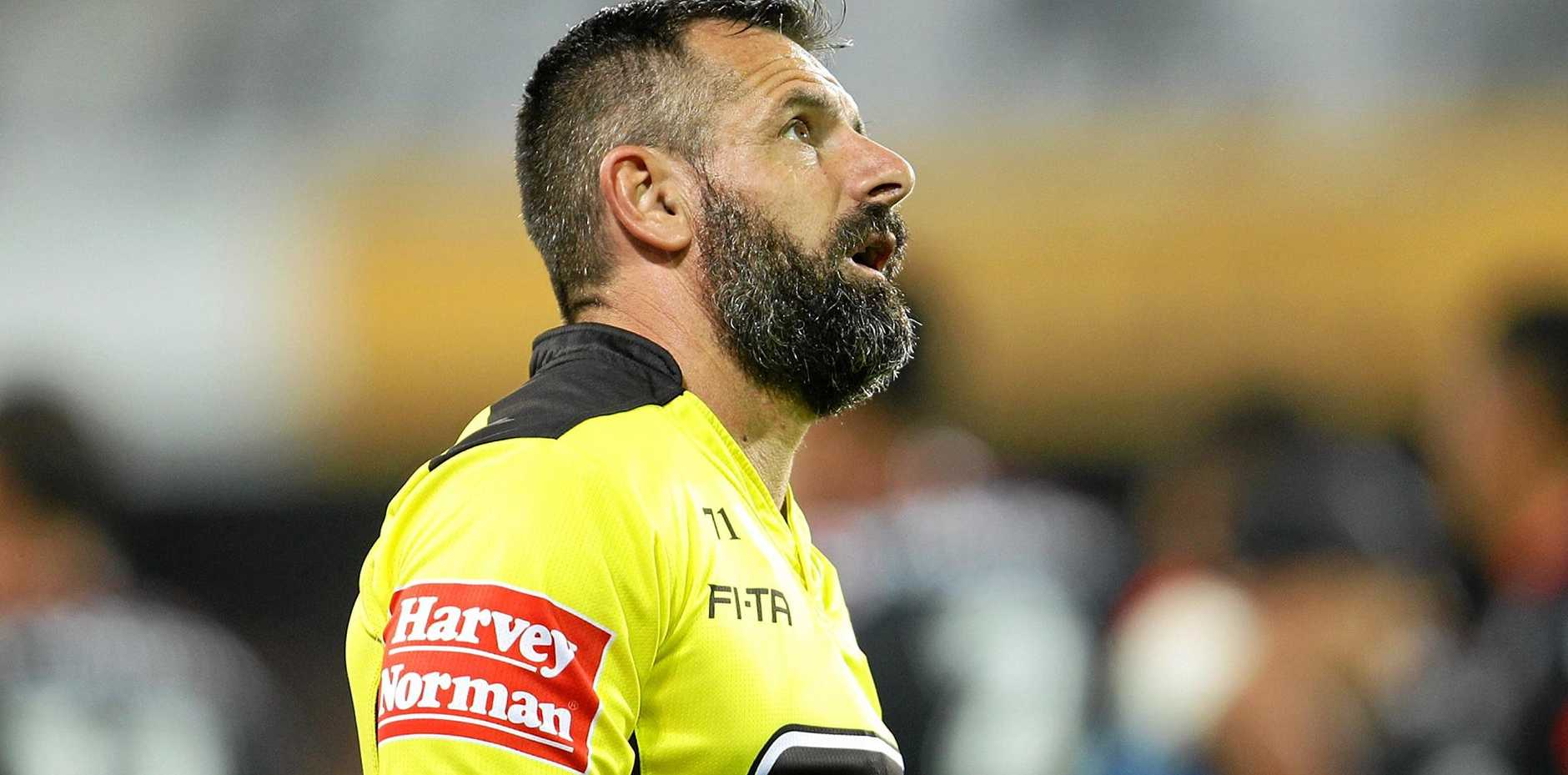 Referee Gavin Badger will officiate in his 300th NRL game this Sunday.