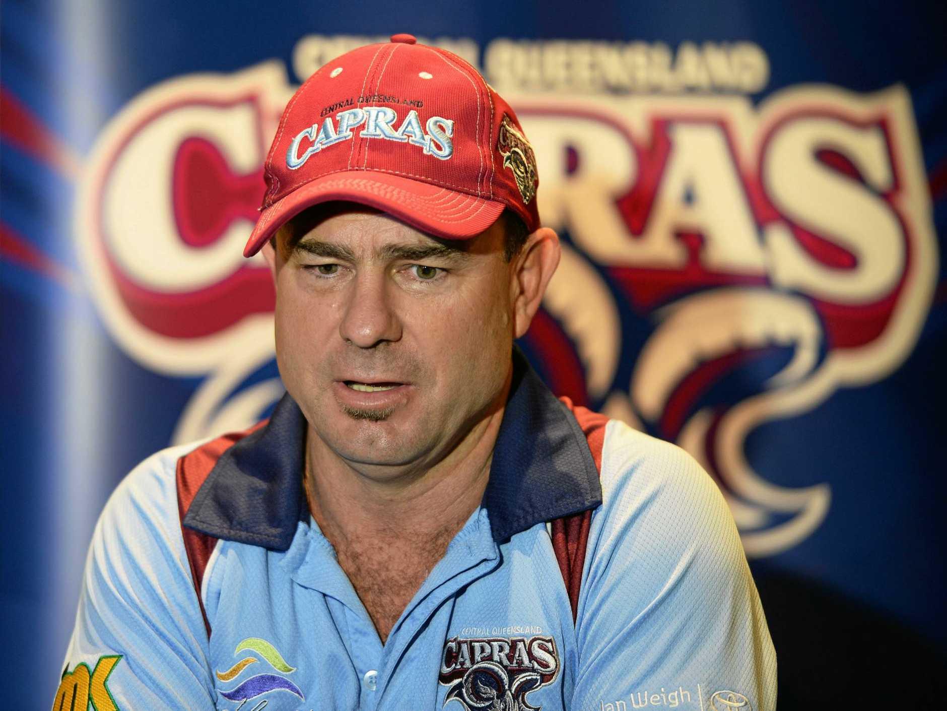 Capras coach Kim Williams.Photo Allan Reinikka / The Morning Bulletin