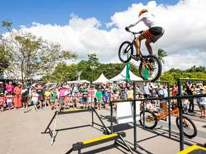 Stunt bike displays will wow the crowd