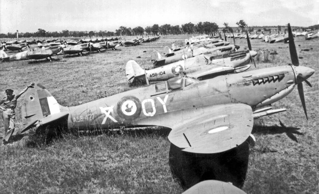 A Brisbane man believes he has found the location near Oakey where buried World War 2 spitfire planes could be waiting to be found.