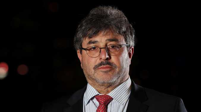 Barrister Sam Di Carlo has been fined for contempt of court. Picture: Tara Croser.