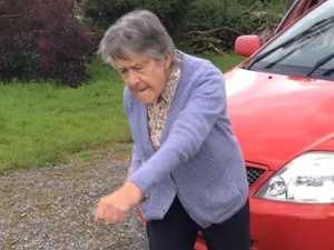 Dancing grandma becomes instant social media star