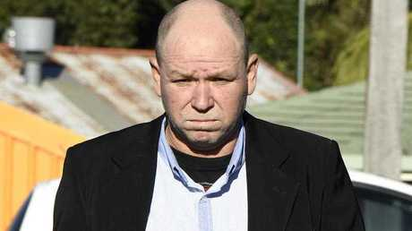 Co-accused Adrian Attwater arrives at the Supreme Court in Coffs Harbour today. Picture: AAP