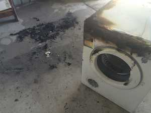 Fire crews respond after fridge explodes, goes up in flames