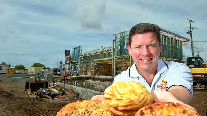 Mark Hobbs celebrates plans to open Beefy's 10th outlet at The Point, Kawana.