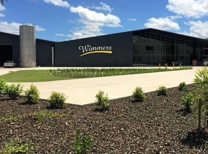 The new Noosa Beverages plant.