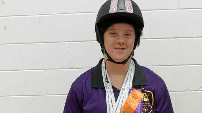 Tammy Straw will represent Queensland in the equestrian category at the 2018 Special Olympics Australia National Games.