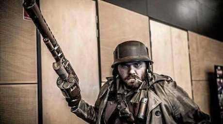 CJ Beazley in steampunk mode.