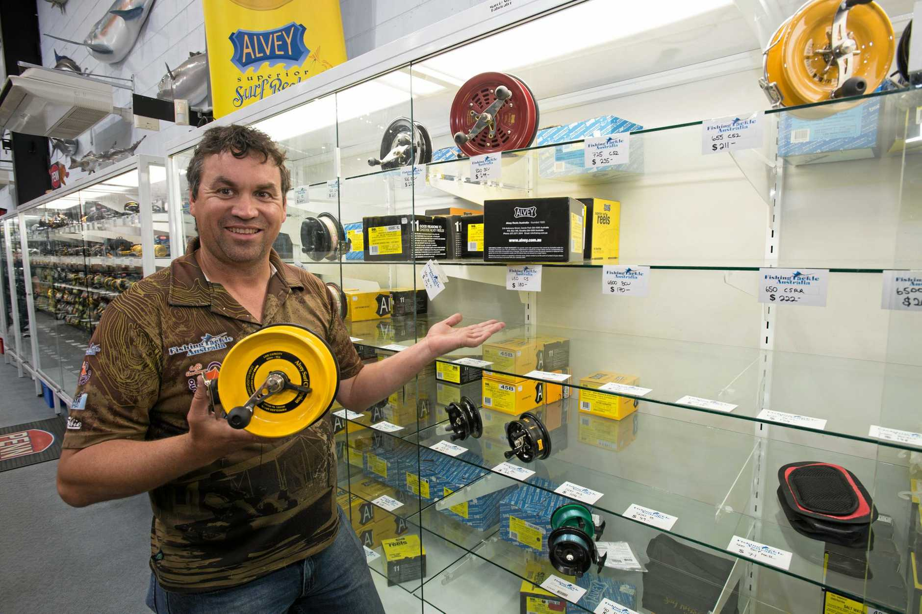 Alvey reels are flying off the shelves at Fishing Tackle Australia.