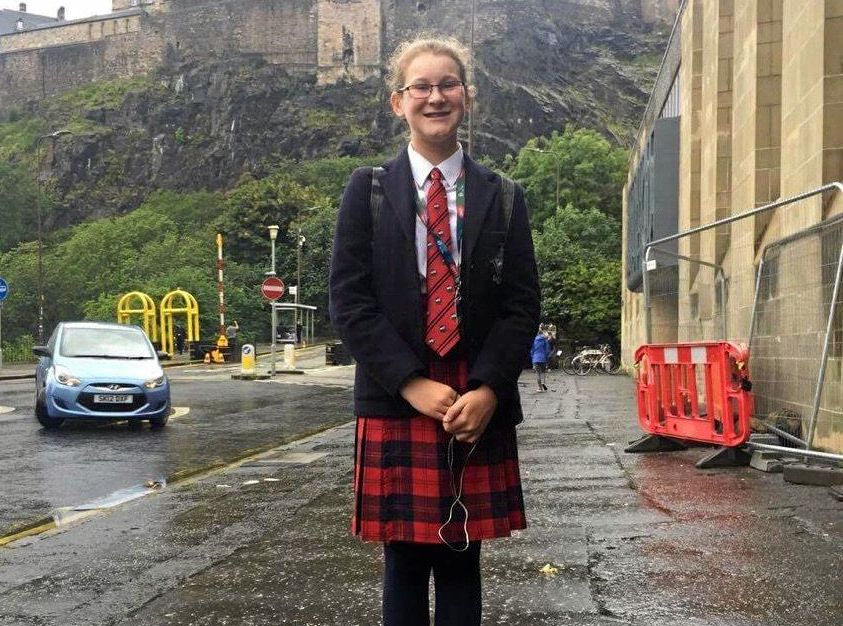 FORMER Seaforth student Charlotte Bitcon, 12, is one day away from performing at the Royal Edinburgh Military Tattoo in Scotland.