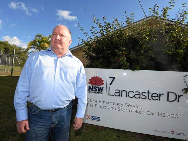 Dave Owens was in Lismore earlier today to brief the council on his findings after he conducted an independent review into the SES response to the North Coast floods.