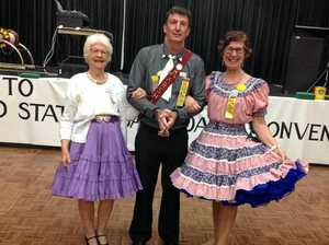 ACTIVE AGEING: Square dancers place an emphasis on fun, friendship and gentle exercise.