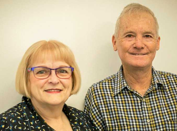 SURVIVORS: Jenny Zerner and John Dower wouldn't be here without the gift of organ donations.