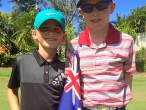 Youngsters to tee off