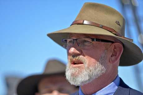 ADDRESSING CONCERNS: Rockhampton MP Bill Byrne has answers for what is happening with Rookwood Weird.