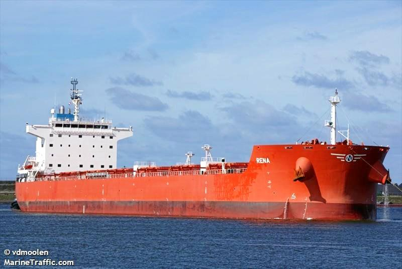 The Rena has been detained off Hay Point since June 6 with crew owed about $53,000.