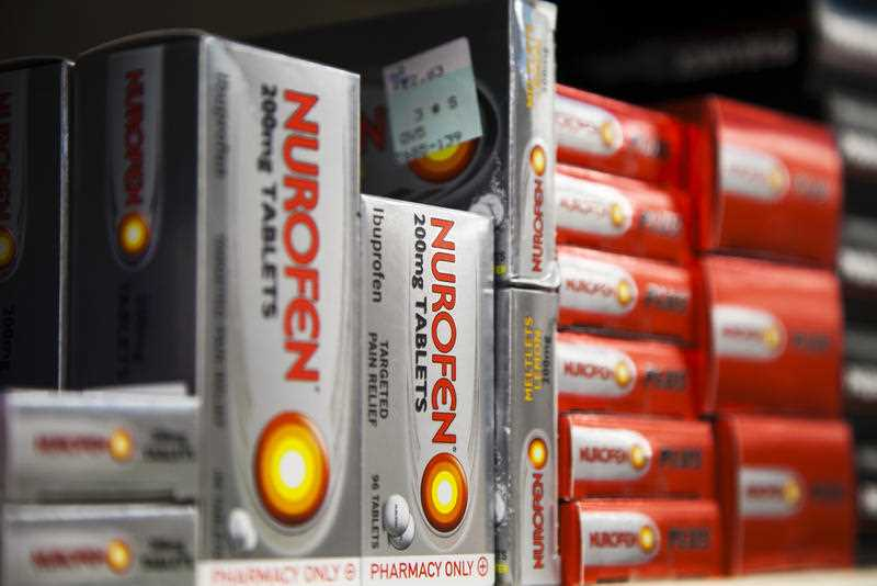 Ibruprofen products including Nurofen could be affecting sex drive.