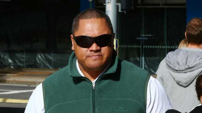 Tamate Heke arrives at court today. Picture: Liam Kidston