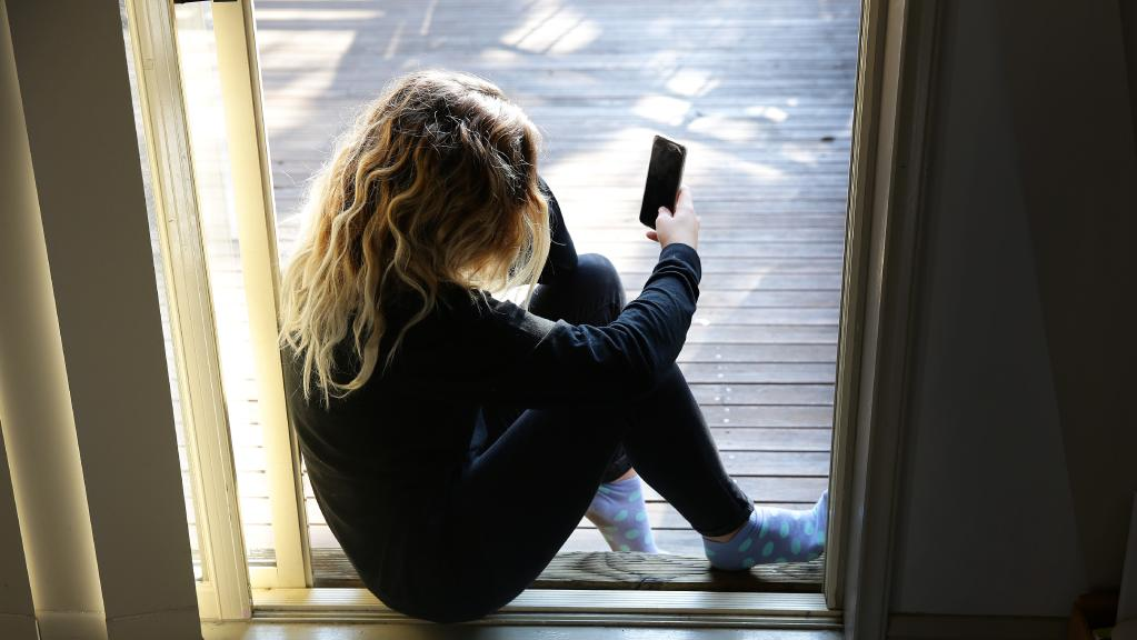 CHILDREN charged with sexting and cyber bullying offences may soon be referred to counselling programs where they will be forced to face their victims. Picture: Mark Scott.