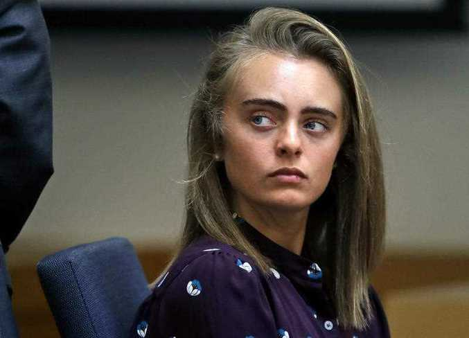 Michelle Carter has been sentenced to jail after her boyfriend killed himself after she encouraged him to end his life.
