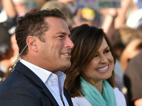 TOP SPOT: Today Show hosts Karl Stefanovic and Lisa Wilkinson will broadcast live from Seventeen Seventy tomorrow morning.