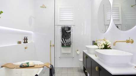Jason and Sarah's main bathroom.