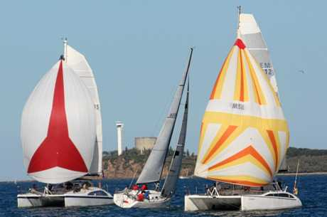 Yachts and multihulls make up the club's offshore fleet.
