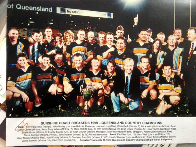 The Coast Breakers won the Queensland Country Championship in 1999.