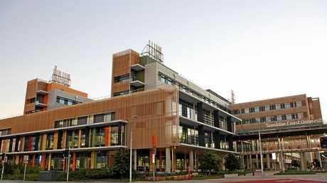 Sunshine Coast University Hospital has a footprint equivalent to the entire Brisbane CBD.