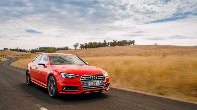 The Audi S4 is a brilliant drive.