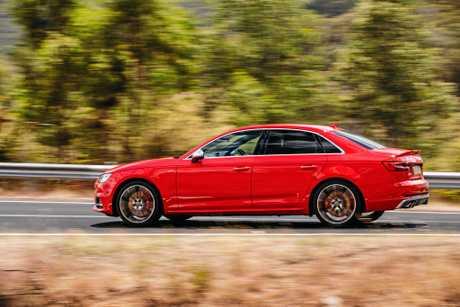 The all-new Audi S4 sedan.
