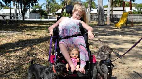 Karlia Craig was devastated when dog Chilly became sick.
