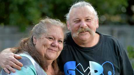 KEEPING UP THE FIGHT: Darilyn and John Grygoruk lost their daughter Jazmin 19 years ago to a terminal degenerative condition.