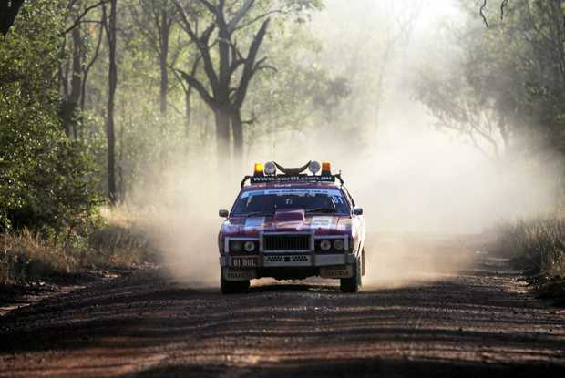 Action from the Road Boss Rally.