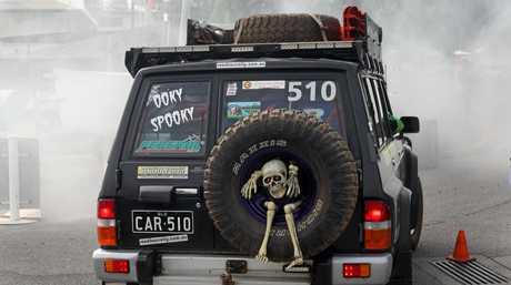 Gavan and Carol Johnson from Nambour Ooky spooky car 510.