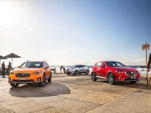 Comparison: 2017 Mazda CX-3 v Toyota C-HR v Subaru XV