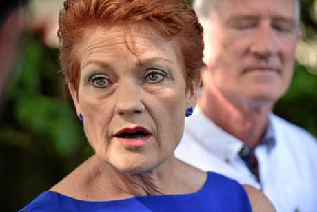 PAULINE Hanson's One Nation Party leader, Senator Pauline Hanson.