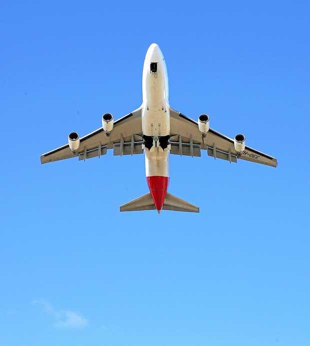 Qantas Flight.