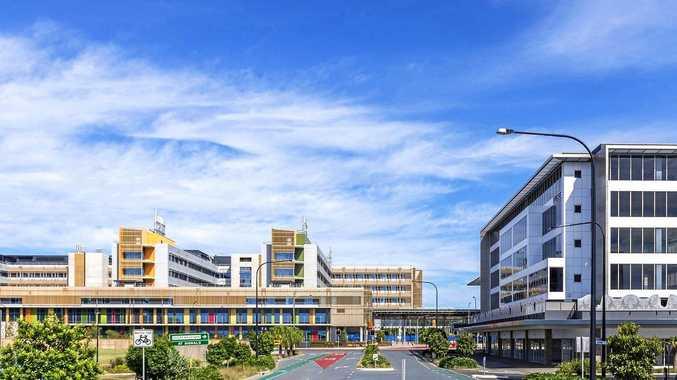 The Sunshine Coast University Hospital at Birtinya.