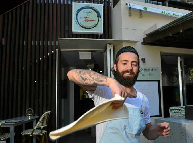 NEW VENUE: Pizza maker Antonio Masella at Cinque Terre Restaurant and Pizzeria in Sunshine Beach.