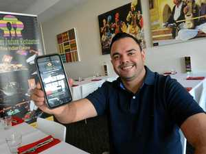 Indian restaurant launches app