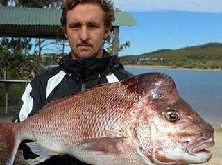 Daniel Saye with a giant snapper caught during the 2016 Pedro Knight Memorial Snapper Competition. The annual event kicks off at Wooli on Saturday, 5th August, 2017.