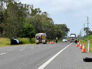 Truckie left victims for dead after Bruce Hwy crash